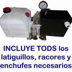 Minicentral hidraulica para llenado y purga de cajas de cambio ZF para Man y Mercedes