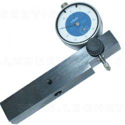 Regla para medir altura de camisa con reloj comparador