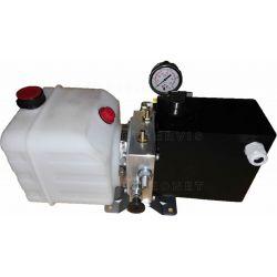 Equipo de llenado y purga del aire circuito hidraulico eje trasero elevable