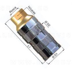 Enchufe hidráulico para ejes direccionales IVECO
