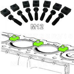 Conjunto de 7 bridas para fijación de camisas M12