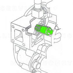 Útil de rotación para volante motor MOTOR VOLVO BUS