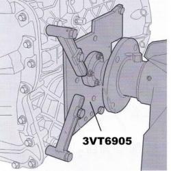 Soporte para caja de cambios VT VOLVO-RENAULT