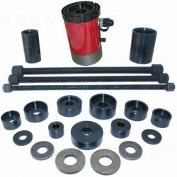 Extractor e instalador universal hidráulico de silent blocks de ballesta