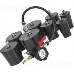 Comprobador de fugas para tubos en intercooler