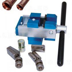 Abocardador mecánico para tubos