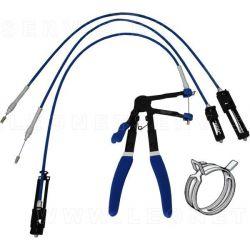 Alicate de abrazaderas con cable