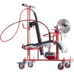 Extractor de ruedas simples no motrices de aluminio
