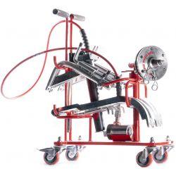 Extractor de ruedas simples y dobles de aluminio y acero. WE I/WE II