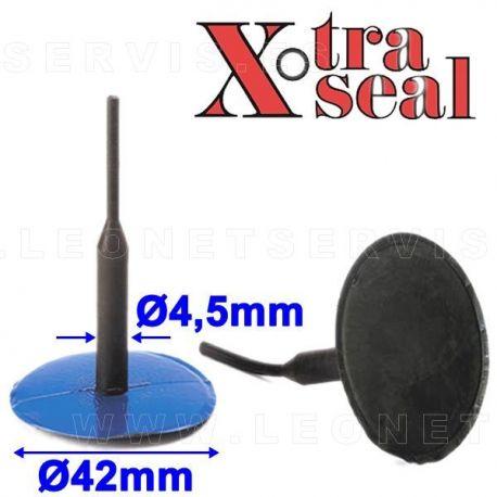 Parche tipo seta 42 mm (seta) x 5 mm (tallo)