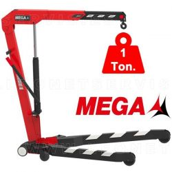 Grúa MEGA plegable y capacidad 1 tonelada