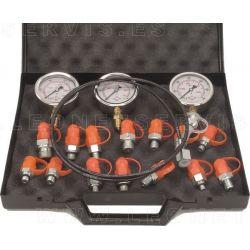 Comprobador de presiones hidraulicas para alta y baja presión