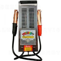 Comprobador y diagnosis de batería y alternador. Para 6V y 12V.