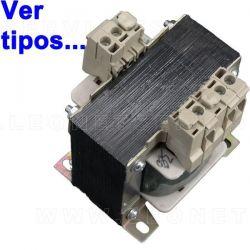 Transformador de corriente para elevadores de coches
