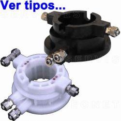 Válvula rotativa de aire para desmontadora de neumáticos