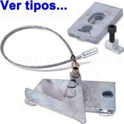 Componente del mecanismo de seguridad para elevador de coches