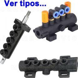 Válvula de aire de 4-5 vías para los pedales de la desmontadora de neumáticos