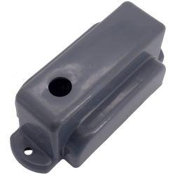 Tapa de plástico para cubrir los electroimanes del desbloqueo de seguridad