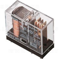 Relé Omron G2R-1-E-12VDC para cuadro de control de elevador de taller
