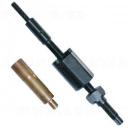 Extractor para camisas de cobre de inyectores en motores VOLVO