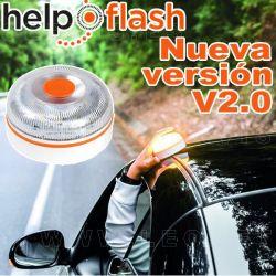 Help Flash, nueva versión V2, 2021. Luz de emergencia obligatoria