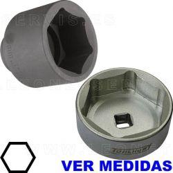 Vaso de 6 caras para vehículo industrial, remolque y otras aplicaciones