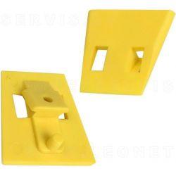 Protecciones para las garras de la desmontadora compatibles con Hofmann, Snap On, Accuturn, Boxer... 4 uds