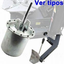 Calderín de aire destalonador para desmontadora de neumáticos