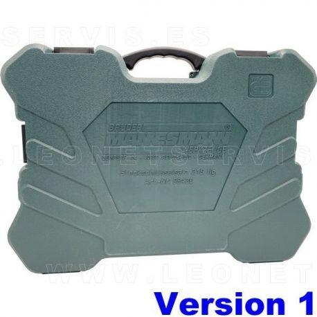 Maletín herramientas Mannesmann M98430 215 piezas (VACIO, PARA REPOSICION)