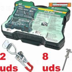 Cierre para Maletín herramientas Mannesmann M98430 215 piezas