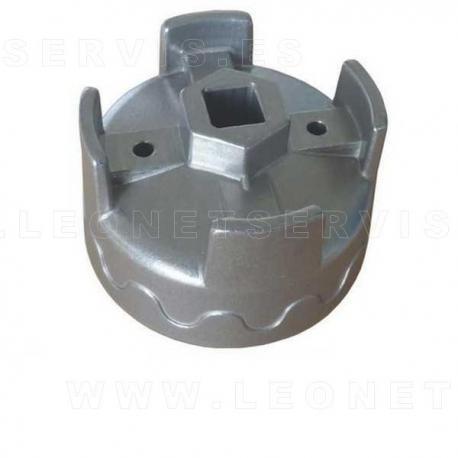 Llave de filtros de aceite 74 mm x 14 caras