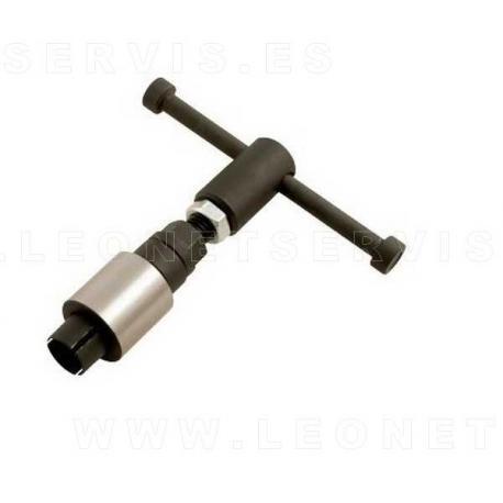Extractor de la aguja interna de inyectores diesel