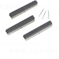 Piedras de recambio grano gruesode 120 para bruñidor de cilindros 9005