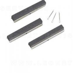 Piedras de recambio grano medio 220 para bruñidor de cilindros 9005