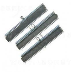 Piedras de recambio de grano medio 220 para bruñidor de cilindros para Ref. 9416