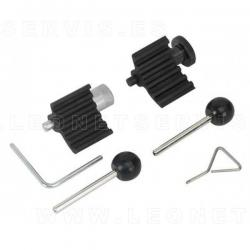 Conjunto de reglaje para motores Ford y VAG 1.4D, 1.9D, 2.0D TDiPD y 1,2D, 1.6D, 2.0D CR (Common Rail)