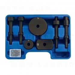 Juego de adaptadores vibro para cincelador neumático