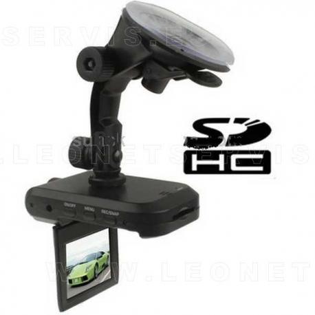Video cámara especial para coches de rally