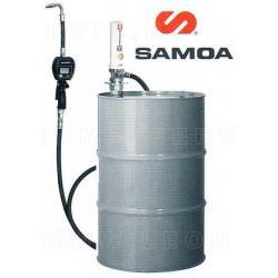 Samoa, bomba neumática de aceite, con contador digital, para bidón 200 litros