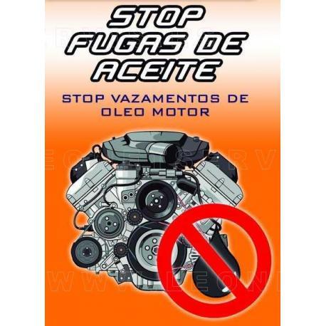 Stop fugas de aceite motor