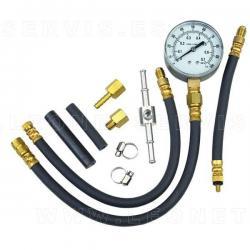 Comprobador de presión de inyección gasolina