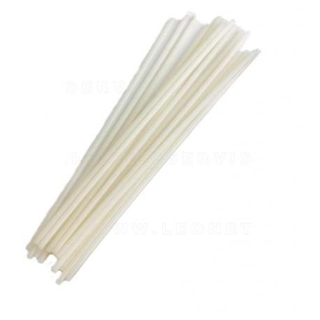 Varilla electrodo de tpo termoplásticos blanco, 15 varillas