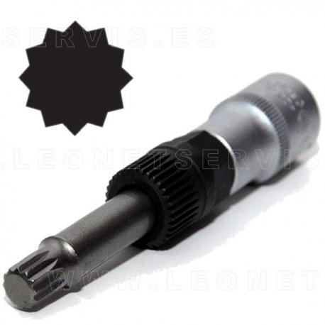 Llave para polea de alternador 1/2 con punta XZN m10