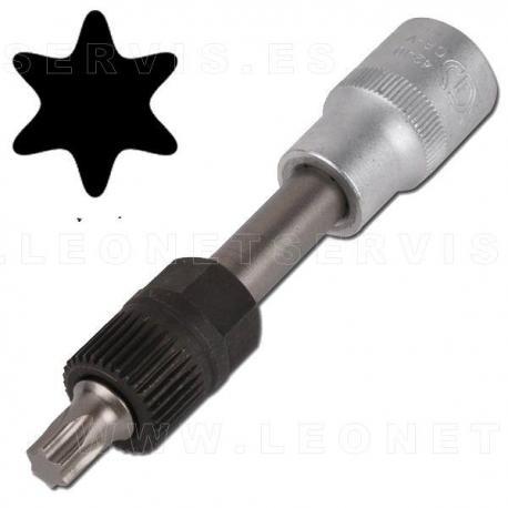 Llave para polea de alternador 1/2 con punta T50