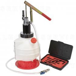 Bomba manual para llenado de aceite de transmisiones automáticas con 5 adaptadores