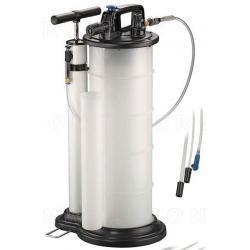 Extractor de aceite y fluidos Manual y neumático 9 lts.