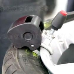 Kit v&m pinza de ayuda para montaje desmontaje de neumáticos perfil bajo y run flat