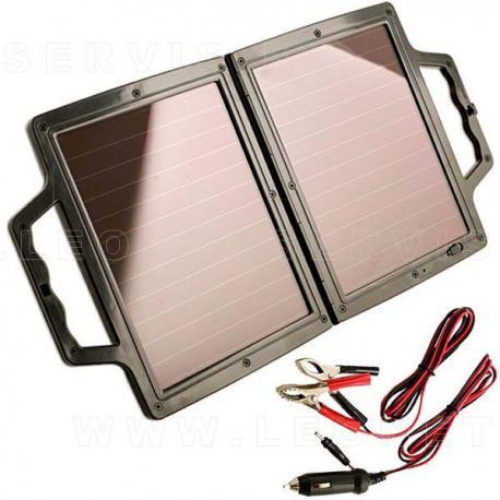 Cargador solar de baterías 12v