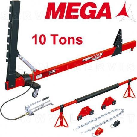 Enderezador de chasis con brazo variable 10 toneladas
