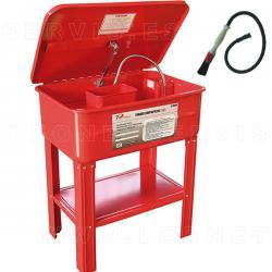 Mesa de lavado 50 - 75 litros + brocha limpiapiezas con tubo